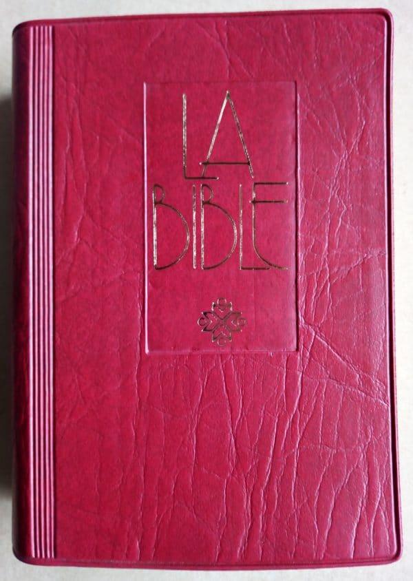 Bible Francais Courant Catholique Petit Format